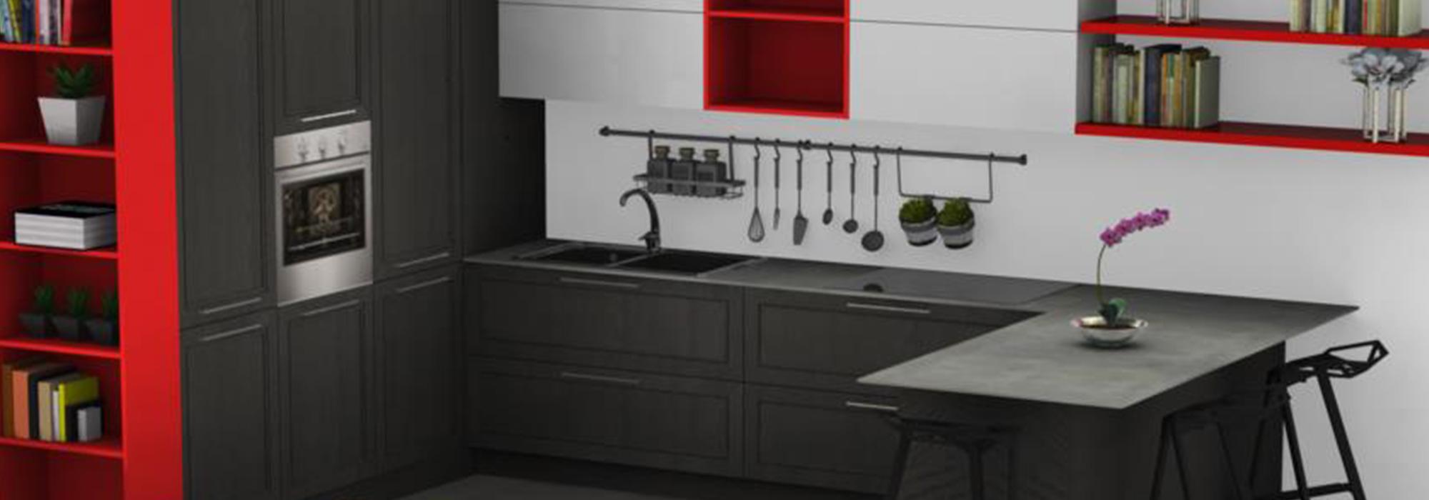 Le cucine componibili: soluzioni vantaggiose per spazi piccoli ...