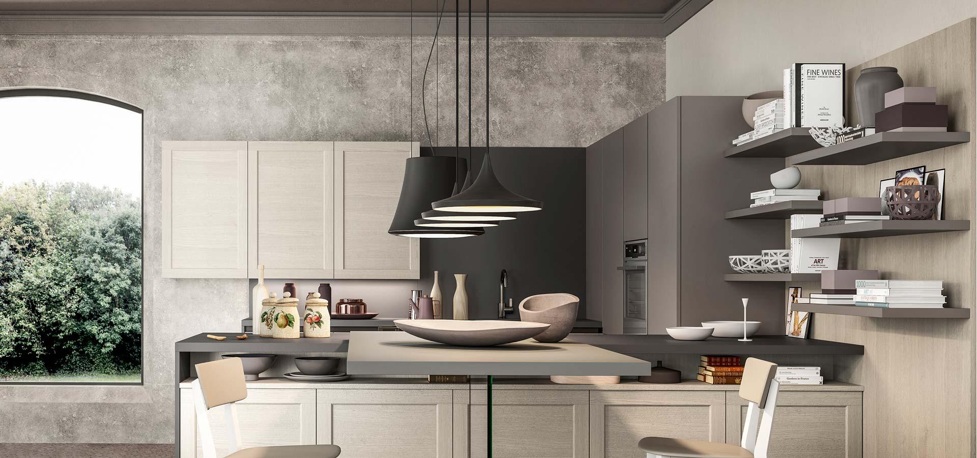 Cucina con ante telaio moderne a padova for Arredo 3 cucine opinioni