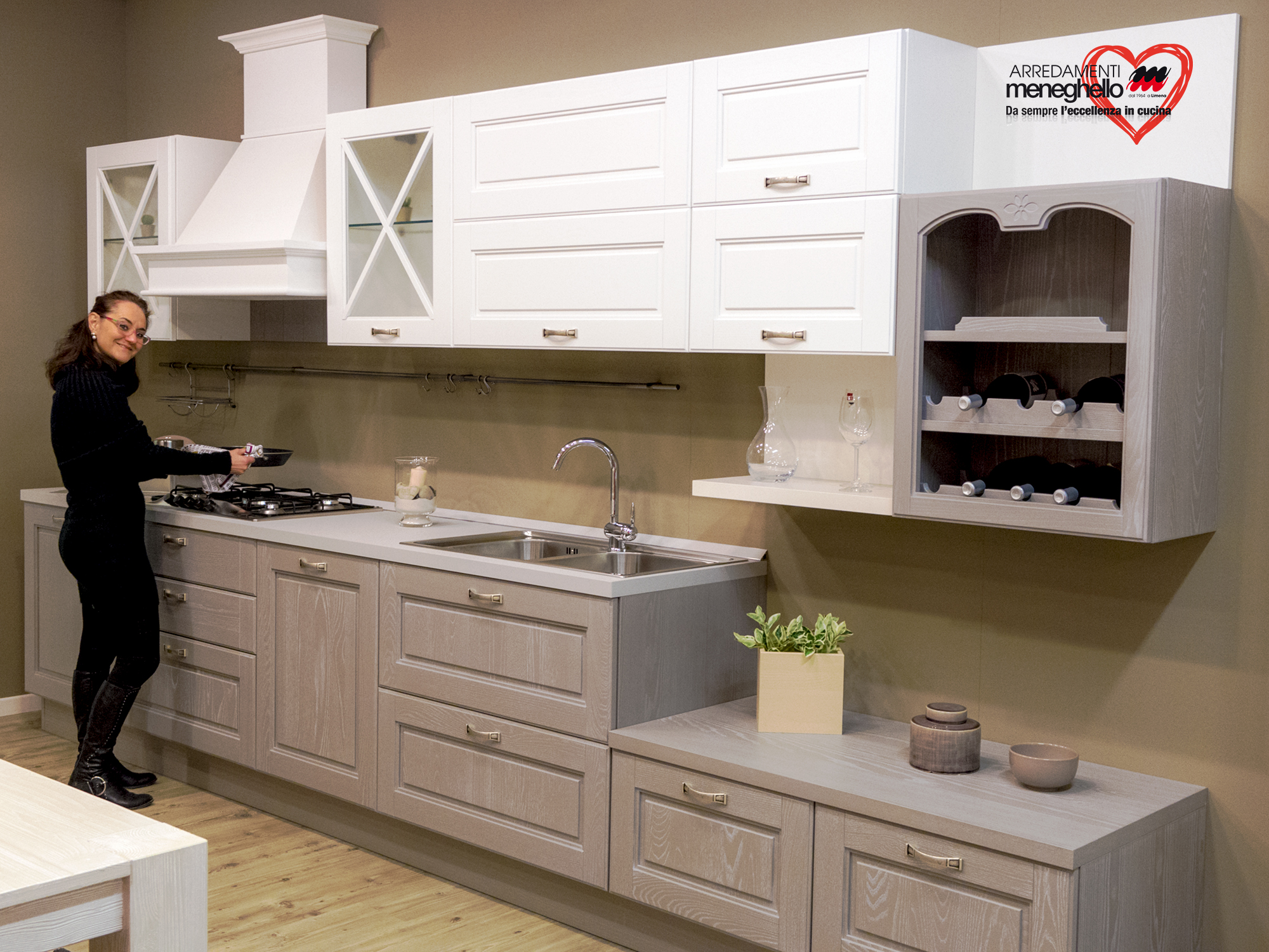 Beautiful cucine angolari offerte contemporary ideas for Offerte aran cucine