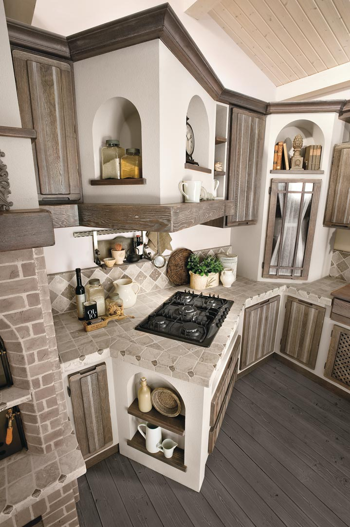 Le cucine country il blog di arredamenti meneghello for Cucine pinterest