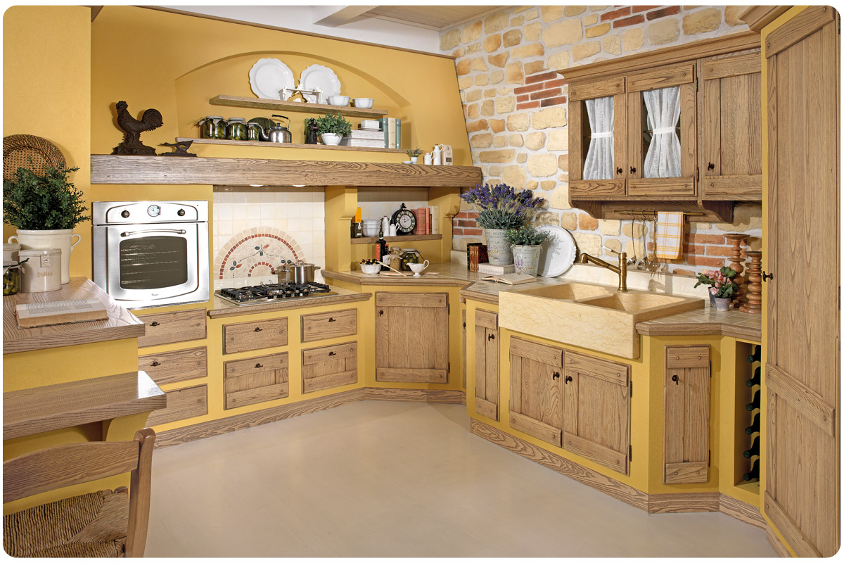 Cool mattonelle per cucine rustiche cucine rustiche cucine - Cucine in muratura rustica ...