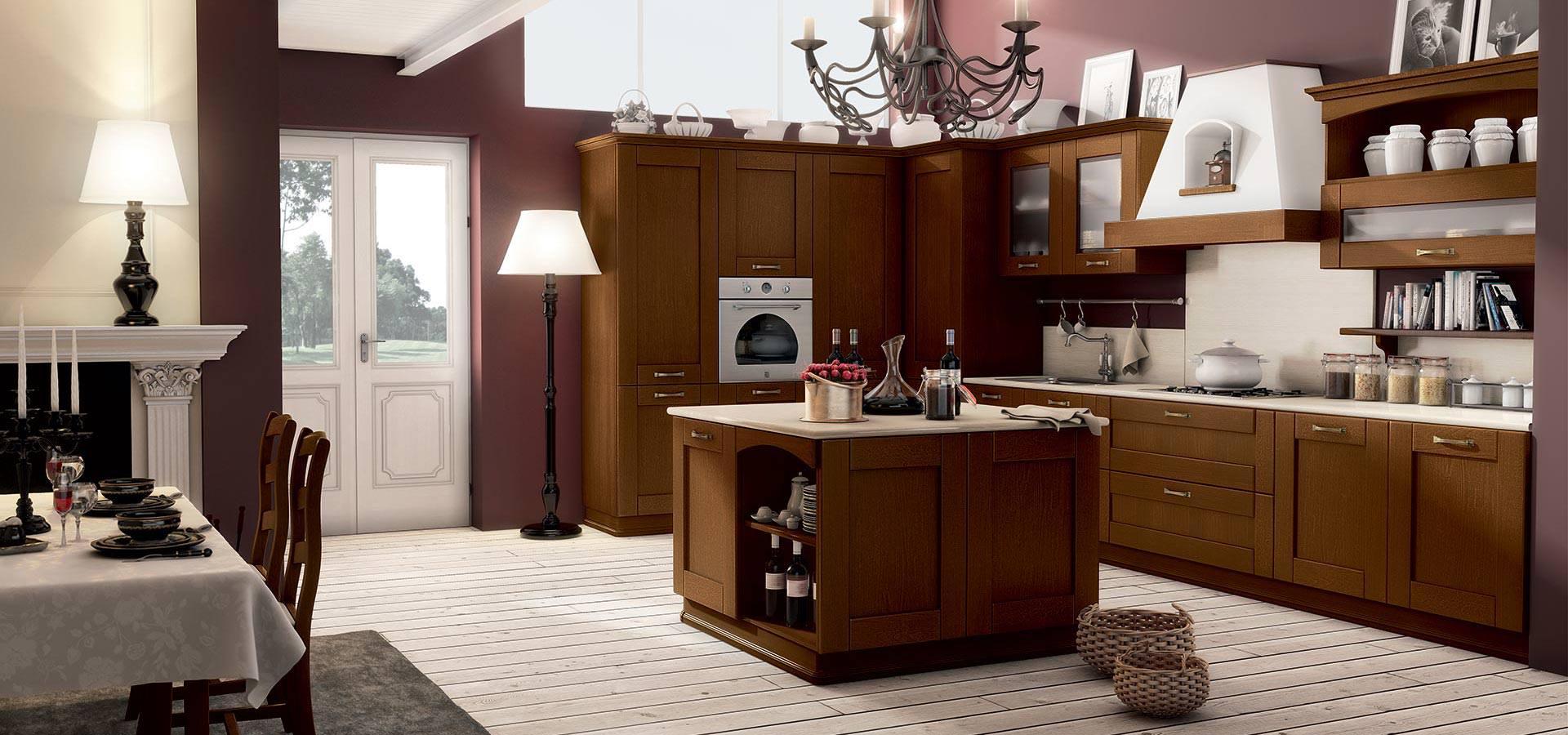 Cucine in legno massello cucine padova - Cucine legno massello ...